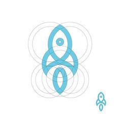 "yogaperdana7: ""Rocket logo"""