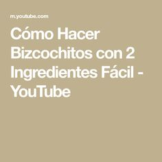 Cómo Hacer Bizcochitos con 2 Ingredientes Fácil - YouTube Youtube, 2 Ingredients, Breads, Useful Tips, Holiday Ornaments, How To Make, Kitchens, Youtubers, Youtube Movies