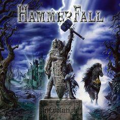 Hammerfall [(r)Evolution]. 2014. Artwork : Andreas Marshall.