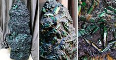 Emerald Weighing More Than 600 Pounds Found in Brazil