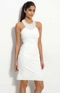 Vestido branco - tubinho