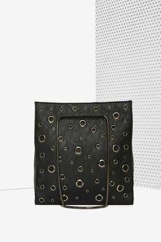 Nasty Gal x Nila Anthony Holed Up Studded Tote Bag | Shop Accessories at Nasty Gal!