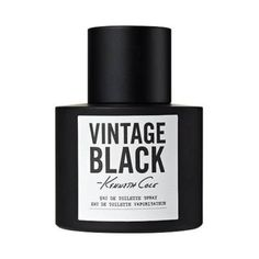 Kenneth Cole Vintage Black Cologne for Men 3.4 oz Eau De Toilette Spray by Kenneth Cole. $26.65. 3.4 ozs. EDT Spray. MSRP: $67.50. Introduced in 2009 by the house of Kenneth Cole. Kenneth Cole Vintage Black Cologne for Men 3.4 oz Eau De Toilette Spray An edgy and provocative scent that's steeped with seduction, Kenneth Cole's Vintage Black is for the masculine, metropolitan man who exudes power and confidence. The notes include green lime, pink grapefruit, dewy greens, white ...