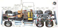 Tamiya, 1:14 Tractor Trucks King Hauler EP ,(