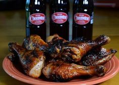 Cheerwine barbecue sauce is perfect for glazing grilled chicken.