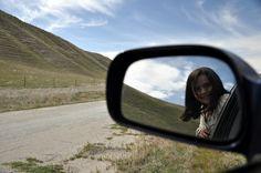 Car mirror photos
