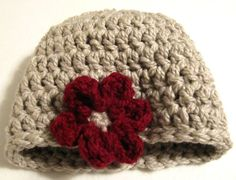 Free Crochet Pattern - One Hour Hat Pattern Design