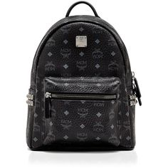 Mcm Backpack - Stark Side Stud Small ($735) ❤ liked on Polyvore featuring bags, backpacks, mcm, backpack bags, knapsack bag, mcm bags and studded bag