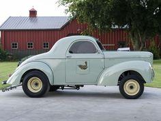 Pure Nostalgia! Leonard Wren's 1940 Blown Willys Gasser