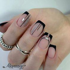 Let your nails look great with nail art. Nail Art Designs Videos, Nail Designs, French Nails, Cute Nails, Pretty Nails, Hair And Nails, My Nails, Pop Art Nails, Acryl Nails
