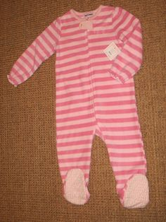 JUICY COUTURE BABY GIRL PAJAMAS BLANKET SLEEPER 24 MONTHS PINK NEW  40 TAG   JuicyCouture  OnePiece ce246fc54