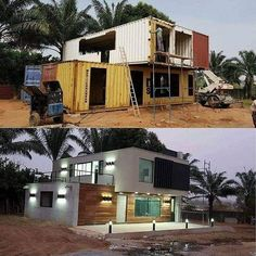 storage container homes plans how to build Building A Container Home, Storage Container Homes, Container Buildings, Container Architecture, Container Shop, Container Office, Sustainable Architecture, Shipping Container Home Designs, Shipping Containers