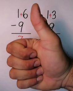 Mental Math Tricks, Cool Math Tricks, Kids Math Worksheets, Math Resources, Math Activities, Life Hacks For School, School Study Tips, Math For Kids, Fun Math