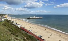 Bournemouth, England: The modern seaside resort was born here in the 1700s, when doctors began touting the health benefits of ocean water and the coastal climate.