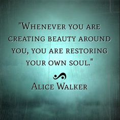 "■ LadyLimoges...        vintagehomeca: (via Pinterest) | ""Whenever you are  creating beauty...."""