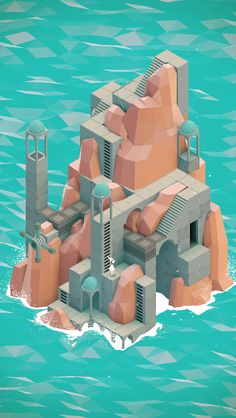 Isometric - Monument Valley by Ustwo Games