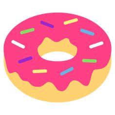 Doughnut Emoji Emoticon, Emoji, For Facebook, Text Messages, Doughnuts, Lettering, Photos Tumblr, Smiley, Texting