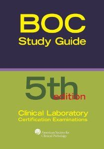 Boc study guide clinical lab