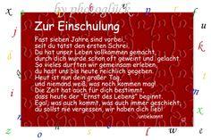 Wunderschöne Karten zur Einschulung - gerne auf Wunsch individualisierbar by Gabriele Jentsch www.dawanda.com/shop/gabyj
