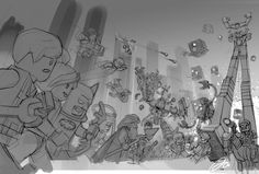 The Lego Movie Video Game by Albert Co, via Behance