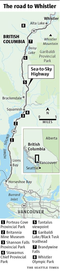 Outdoors | Heading for Whistler? Here's your guide to roadside attractions worth a stop | Seattle Times Newspaper