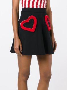 Love Moschino юбка с сердцами