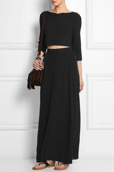 ÉTOILE ISABEL MARANT Fleming crepe maxi skirt £175.00 http://www.net-a-porter.com/products/512802