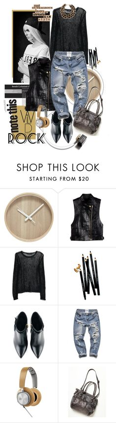 """""""Untitled #398"""" by jecas24 on Polyvore featuring Alexander Wang, MANGO, D&G, Bobbi Brown Cosmetics, Kim Kwang, Bang & Olufsen and Free People"""