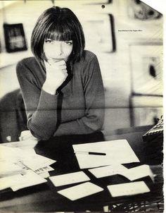 Anna-Wintour by Ellen von Unwerth for Interview,1993