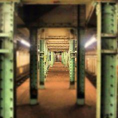 Abandoned New York subway station #urbanexploring