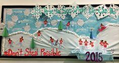 #frozen #dontstealpossible #bulletinboard #winter