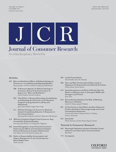 The Journal of Consumer Research published an article about Consumer Culture Theory. Over a 20 year time  they found consumers behaviors have a pattern to them. This new information can help stores with their target market and figuring out what part of the pattern is happening right now. -Katie Ellis