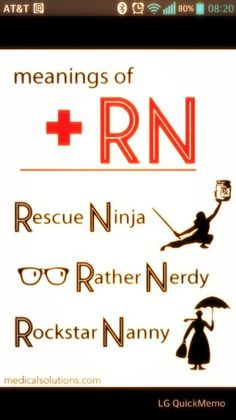 There is also.... Real Nerd or Registered Nut ;-) Twitter Nurse Humor