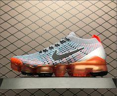 4235f0cdf3d35 Womens Nike Air VaporMax Flyknit 3.0 Black Blue Pink AJ6910-104