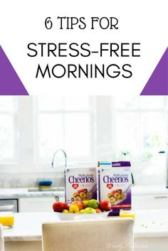 6 Tips for Stress-Free Mornings - Manage your mornings with kids better with these easy tips!  #BigGBreakfast @Publix #ad