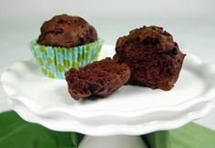 Hungry Girl Brownie Muffins - no oil or eggs