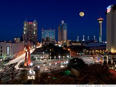 I was born and raised in San Antonio, TX.