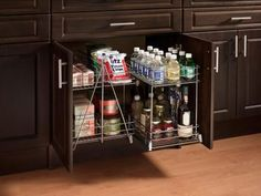 Enhance the function of your kitchen with specialty features that add excitement and convenience such as wine coolers, pet food centers and more.