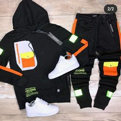Dope Outfits For Guys, Swag Outfits Men, Boy Outfits, Boys Clothes Style, Men Clothes, Kenza Farah, Tomboy Swag, Nike Gear, Polo Outfit