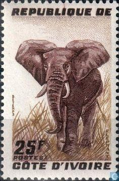 Ivory Coast [CIV] - Elephant 1959