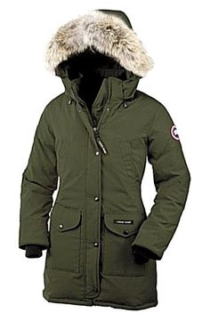 Womens Clothing Online Canada, Discount Womens Clothing, Canada Goose Women, Canada Goose Jackets, Women's Dresses, Kensington Parka, Clothing Size Chart, Womens Parka, Casual T Shirts