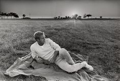 portrait of mcqueen and the horizon • william claxton