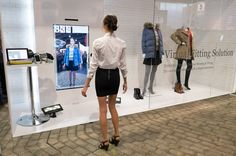 """Toshiba-Virtual Fitting Room - """"10 OF THE MOST INNOVATIVE DESIGNS FROM CES 2015"""""""