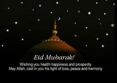 Happy Eid Mubarak Wishes 2019 - Eid Mubarak Messages & Greetings Eid Mubarak Wishes Images, Happy Eid Mubarak Wishes, Eid Mubarak Messages, Eid Mubarak Quotes, Eid Al Fitr Greeting, Eid Greeting Cards, Eid Takbeer, Last Day Of Ramadan, Eid Prayer