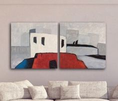 Large Abstract Painting by ArtbySonjaAlfreider on Etsy