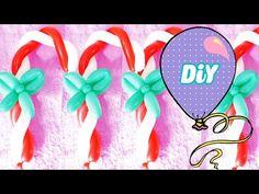 Como Fazer Bengala de balão #Natal - YouTube