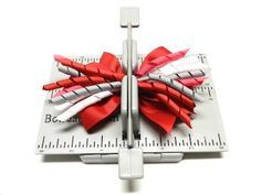 Create a multi-layered stacked boutique style hair bow with the Mini Bowdabra and Hair Bow Tool & Ruler.