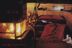 "Ralph Lauren Home Archives, ""Ski Lodge"" collection, Bedroom, 1984"