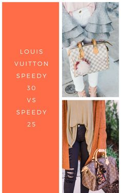 ae057ad3d364 Louis Vuitton speedy 30 vs 25. Comparing the Louis Vuitton speedy 30 with  the Louis