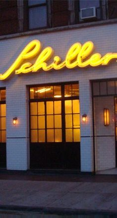 Schiller's Liquor Bar - NY - muy recomendable